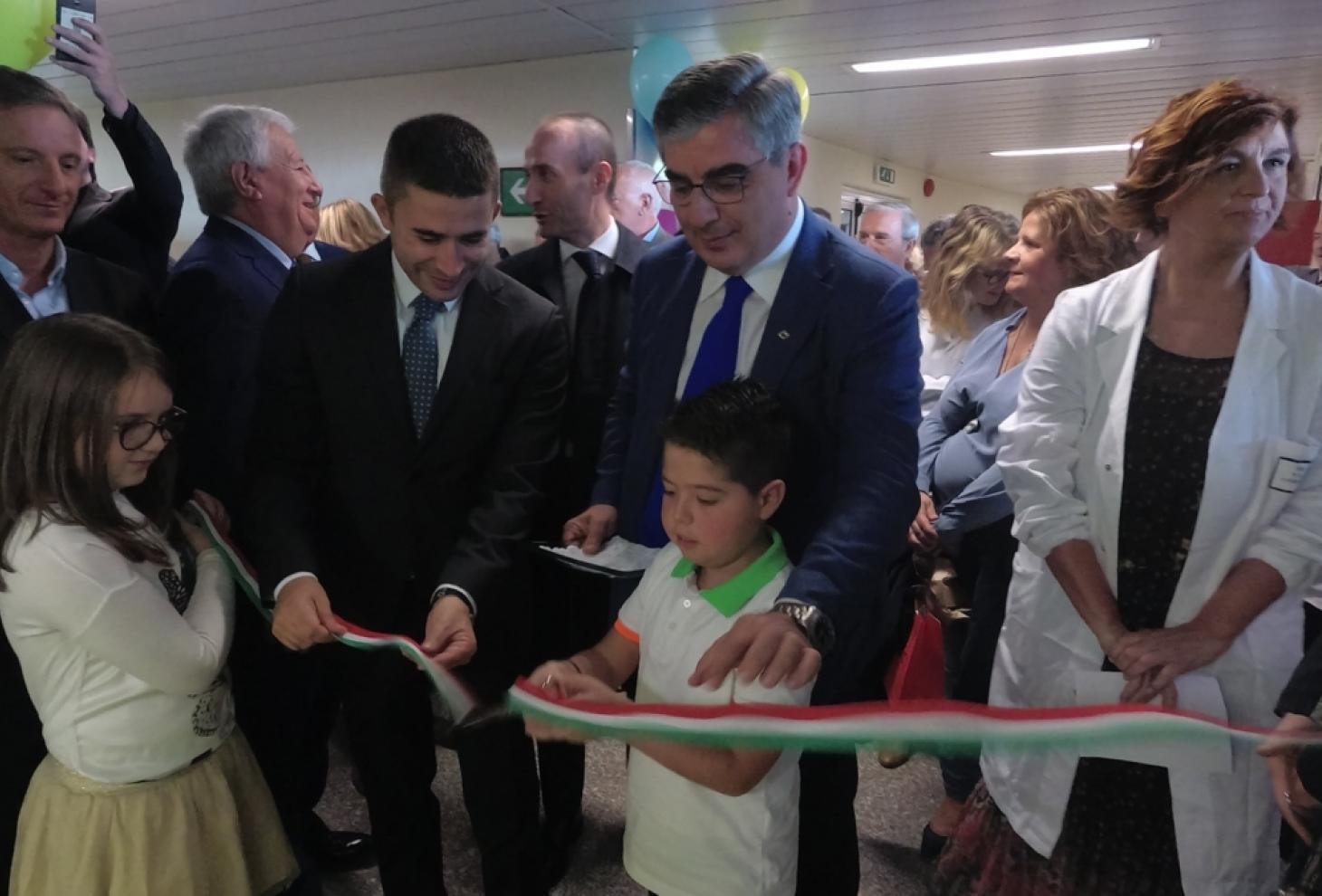 inaugurazione piastra pediatrica chieti