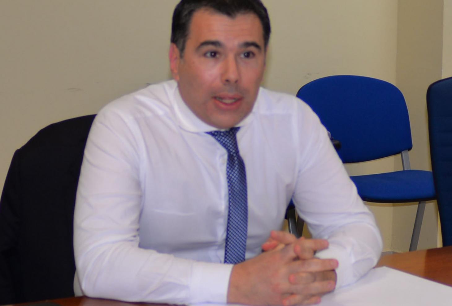 L'Assessore Andrea Gerosolimo