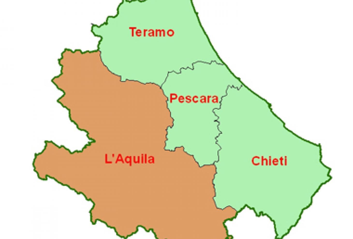 Cartina Della Regione Abruzzo.Sviluppo Sostenibile In Abruzzo Il Festival 22 Maggio 3 Giugno Regione Abruzzo