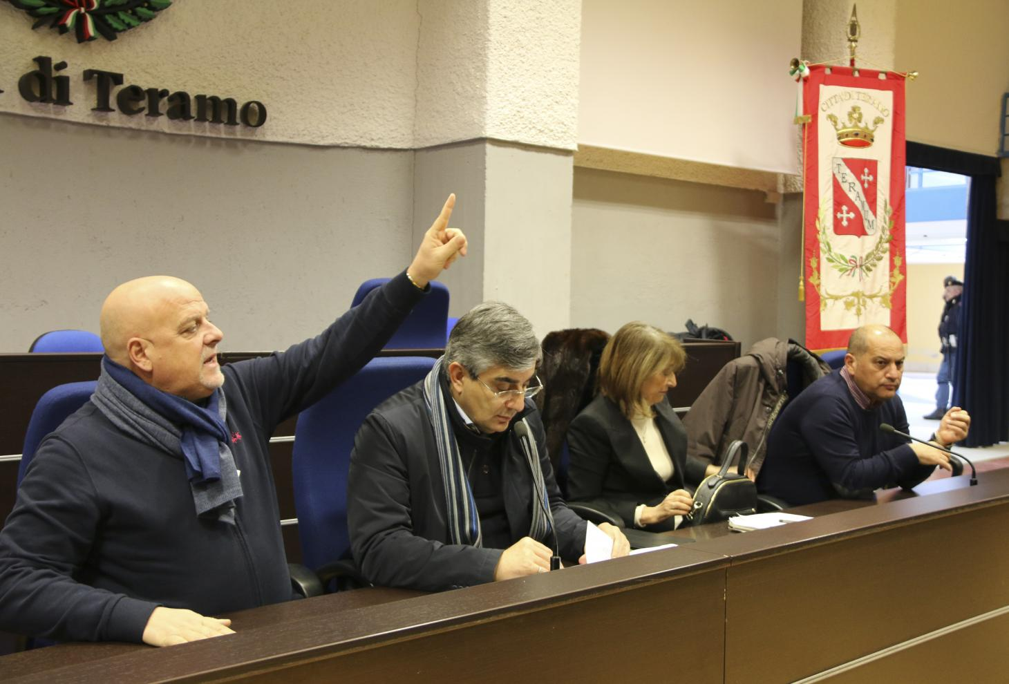 Incontro con i sindaci della Provincia di Teramo