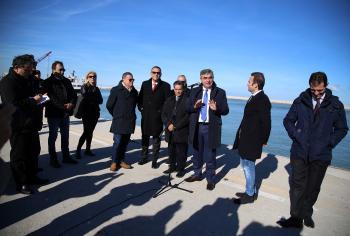 Porto di Pescara: consegnati i lavori per il taglio della diga foranea