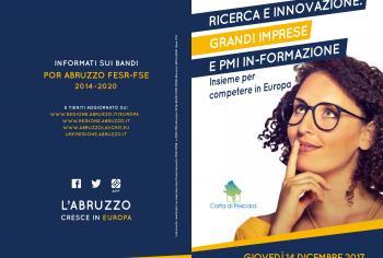 Economia: domani a Pescara seminario per progetto comune grandi imprese e Pmi