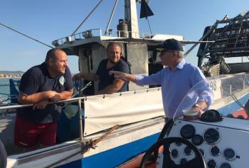 Pesca: Pepe visita Guardia Costiera di Giulianova