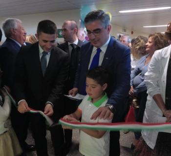 Sanità: inaugurata la nuova piastra pediatrica del policlinico di Chieti