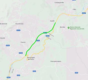 S.S.652Fondovalle Sangro: a Chieti firmata la consegna dei lavori di completamento