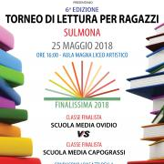 Cultura; Apc di Sulmona: il 25 finale di Giocando con i libri