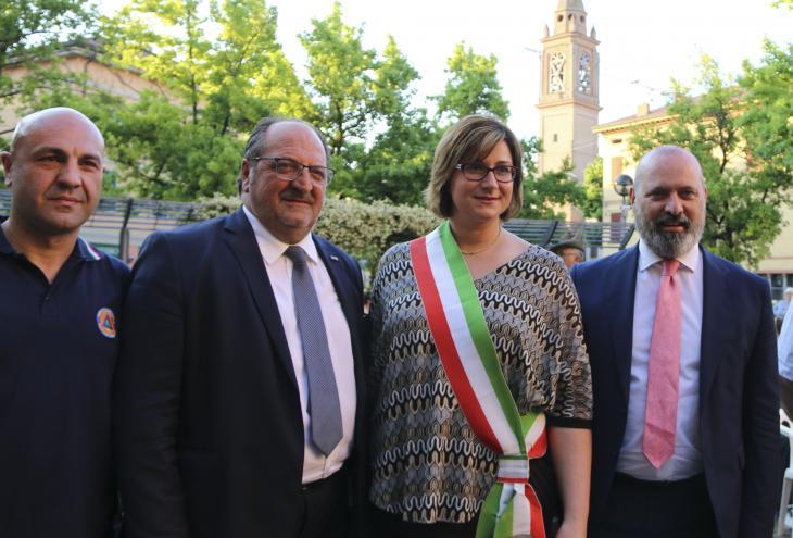 Silvio Liberatore Mario Mazzocca Lisa Luppi Stefano Bonaccini