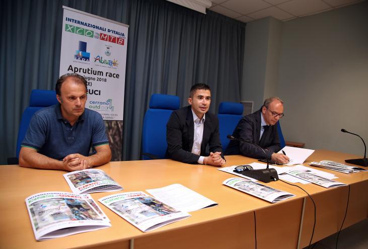 nella foto: la conferenza stampa con Paolucci, Verrocchio e Cesarini