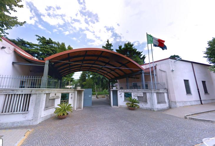 La Caserma dei Carabinieri Rebeggiani di Chieti