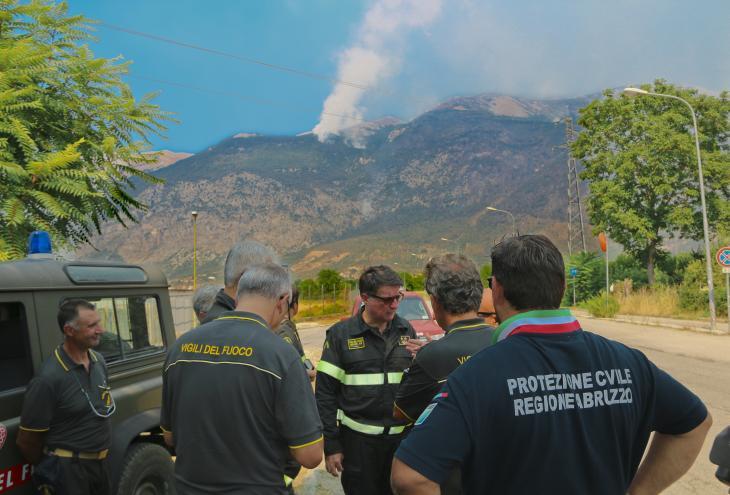 Squadra di vigili del fuoco