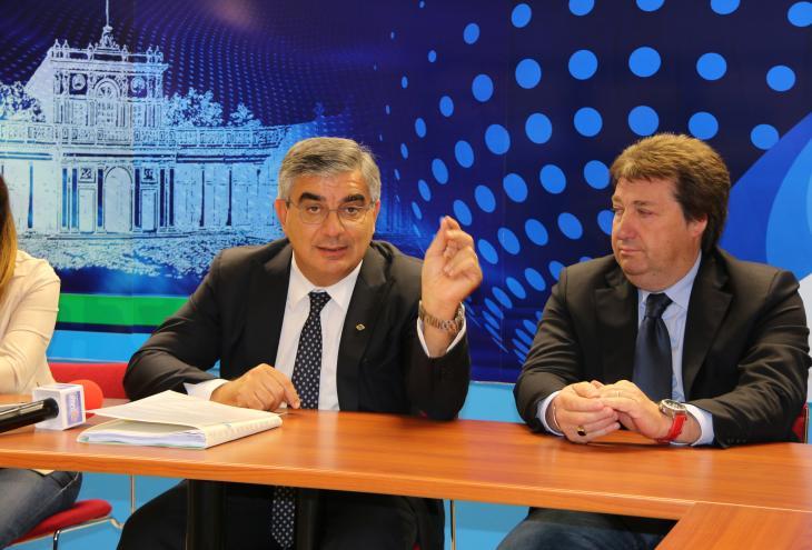 Luciano D'Alfonso e Antonio D'Alfonso