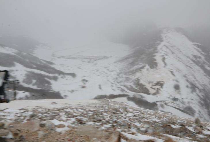 Neve in alta quota
