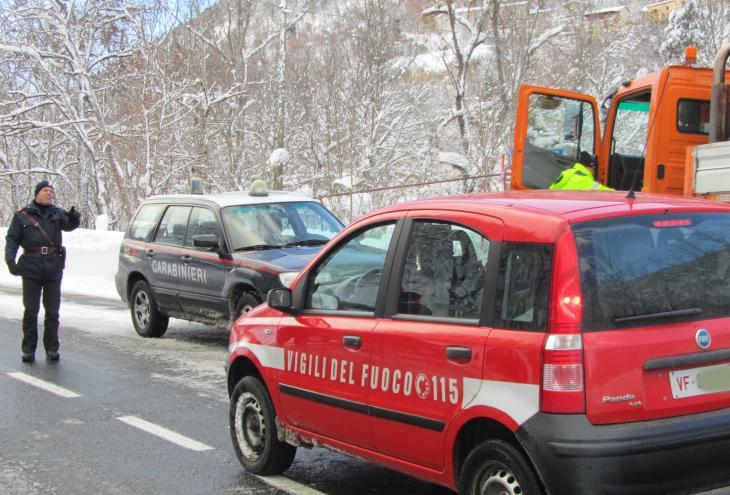 Emergenza neve Abruzzo