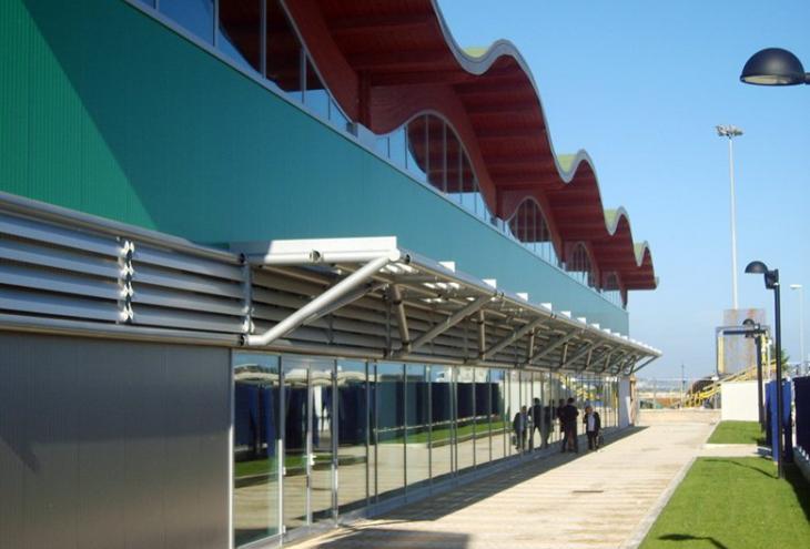 Padiglione espositivo del Porto turistico di Pescara