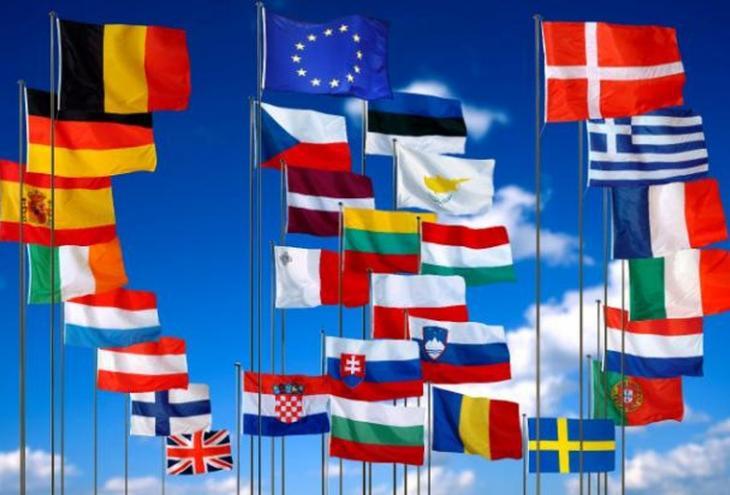 Bandiere degli Stati dell'Unione Europea