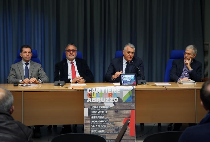 Presentazione 'Cantiere cultura Abruzzo'