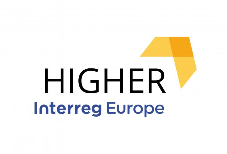 logo higher interreg europe