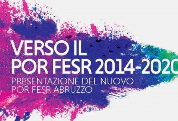 Logo POR FESR Abruzzo
