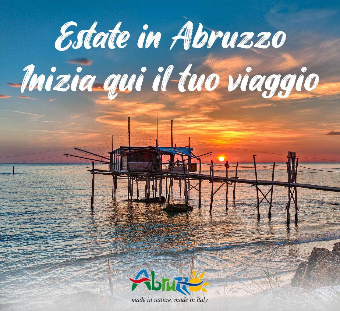 Estate in Abruzzo, inizia qui il tuo viaggio - mare, spiaggia, costa dei trabocchi
