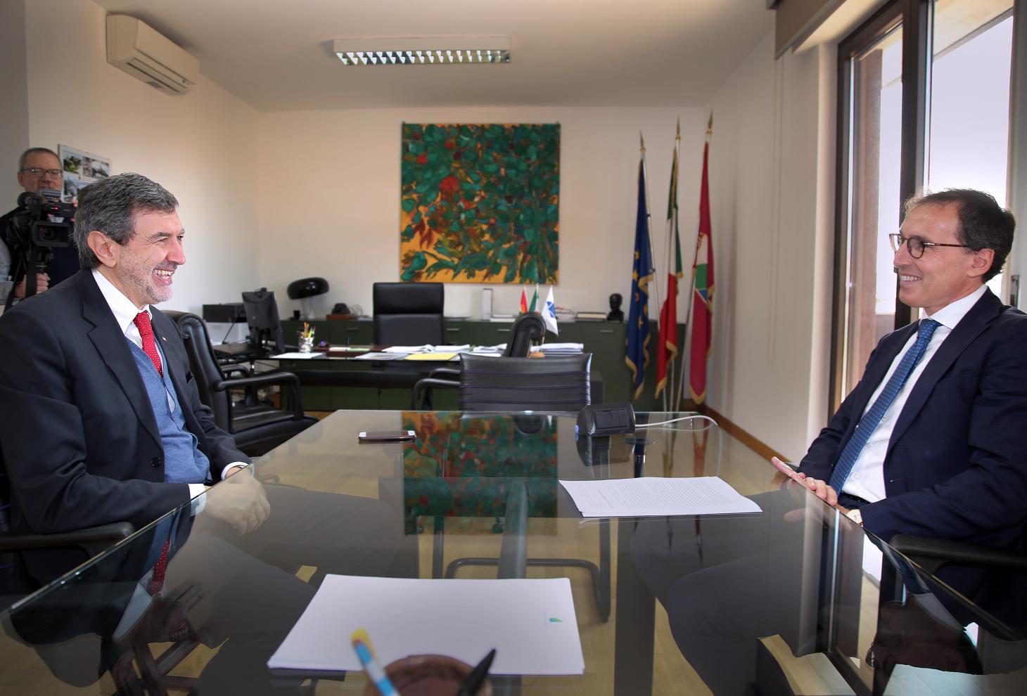 Autonomia: ministro Boccia incontra Marsilio