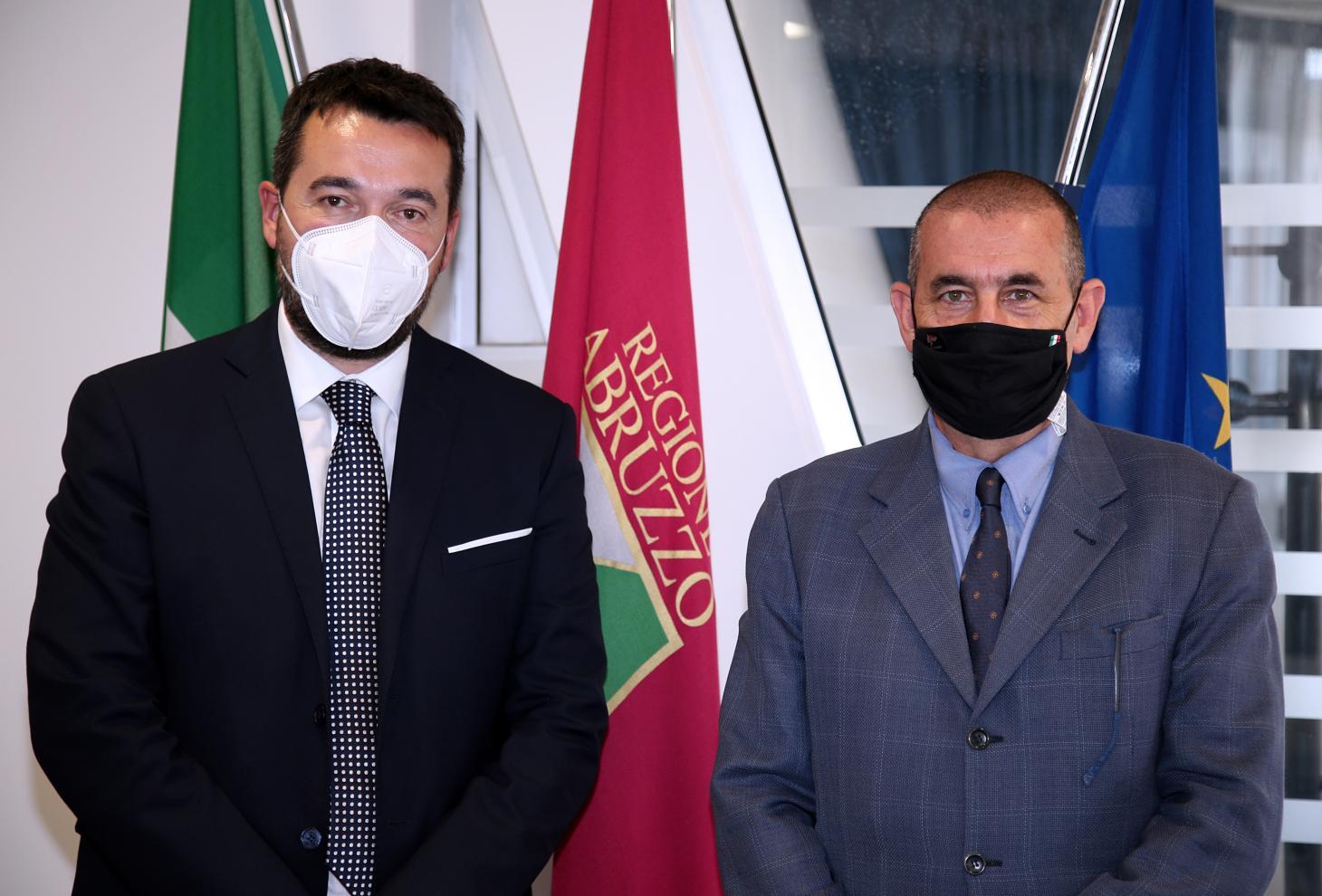 Nicola Campitelli e Giuseppe Vadalà