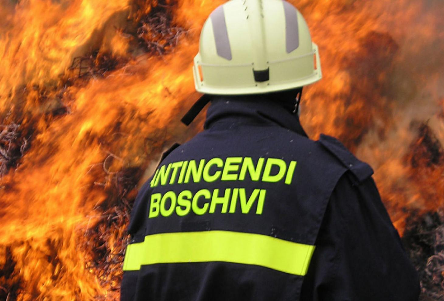 immagine incendio