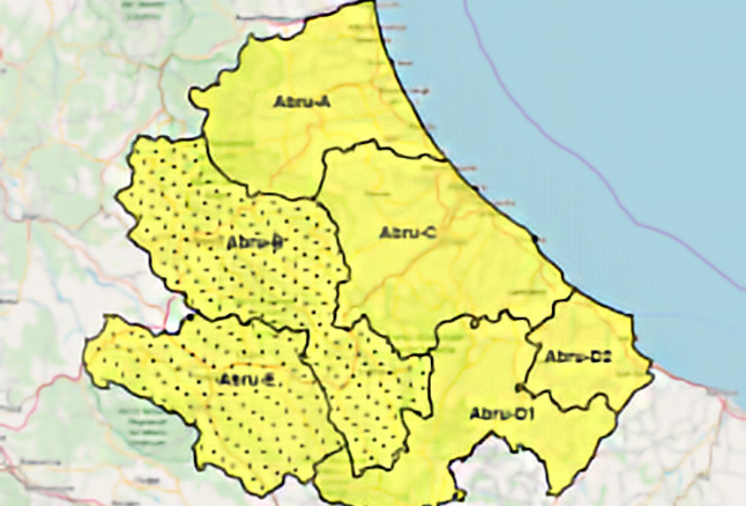 mappa regionale