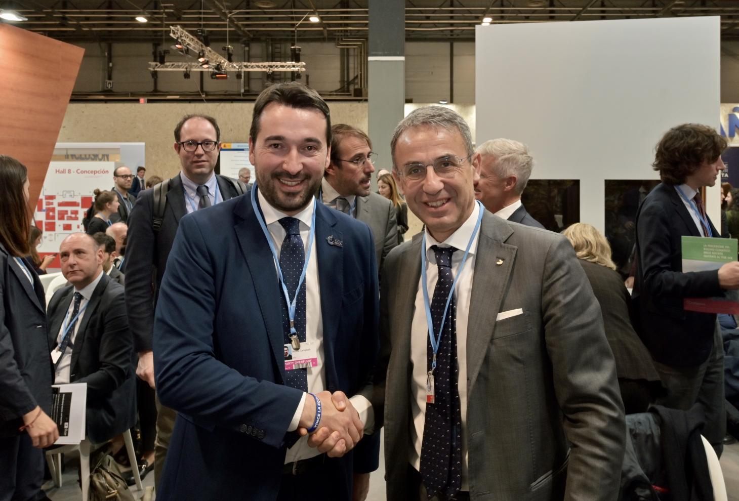 Clima: Campitelli incontra a Madrid ministro Costa
