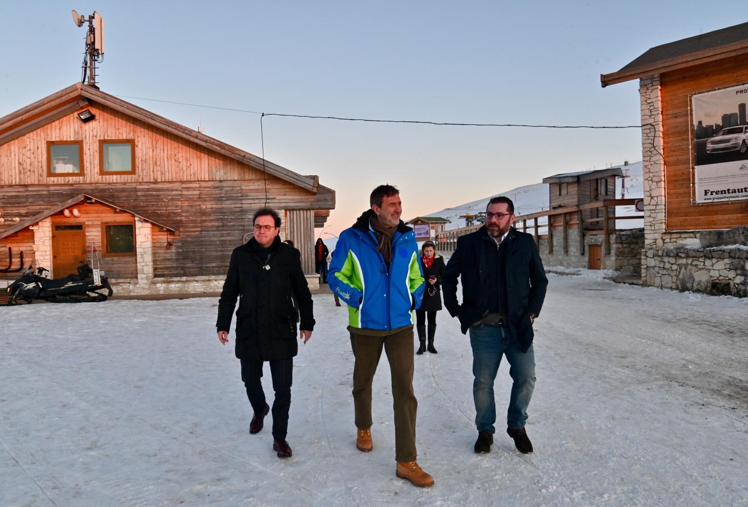 """Turismo: Marsilio e Febbo illustrano progetto rilancio bacino """"Passolanciano-Mammarosa"""""""