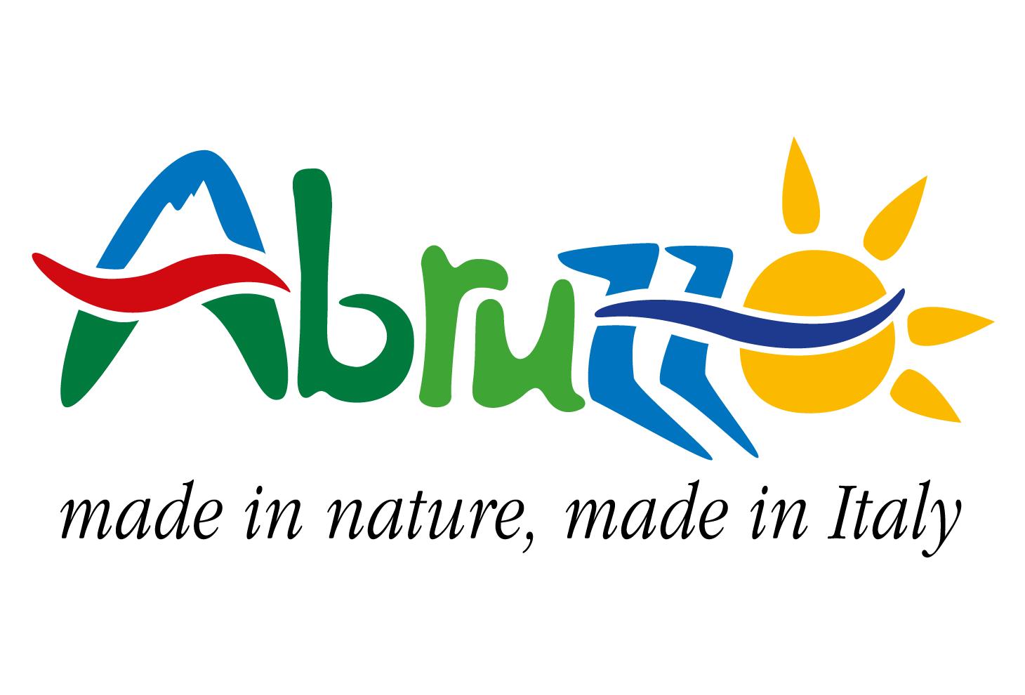 Nell'immagine il logo di abruzzoturismo
