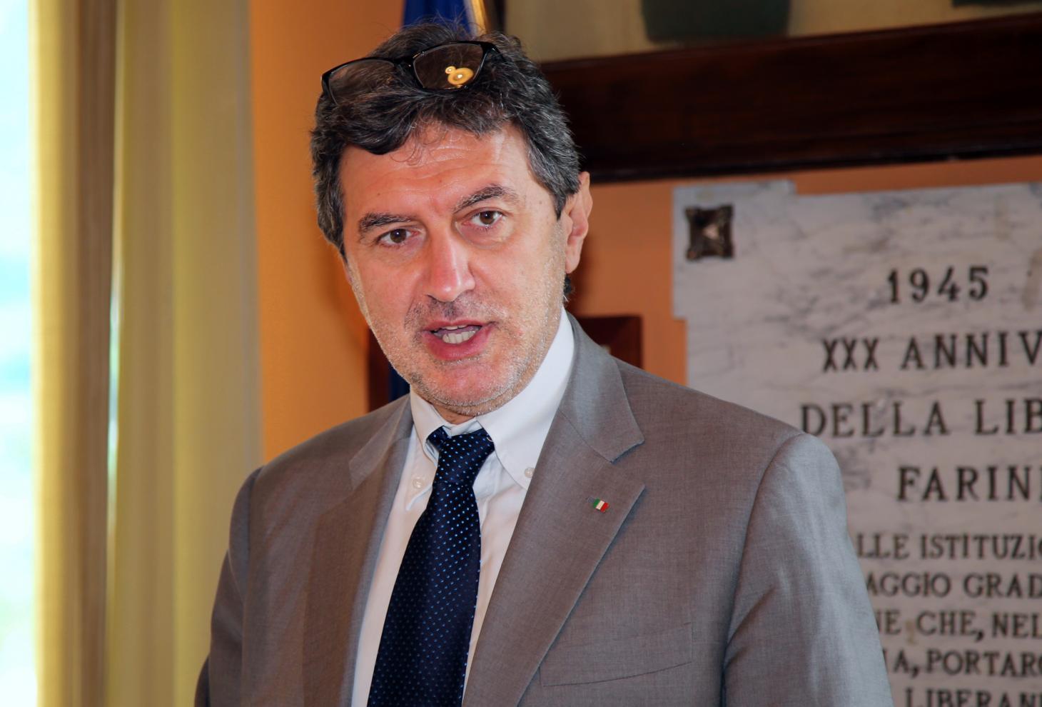 Il presidente della Regione Abruzzo, Marco Marsilio
