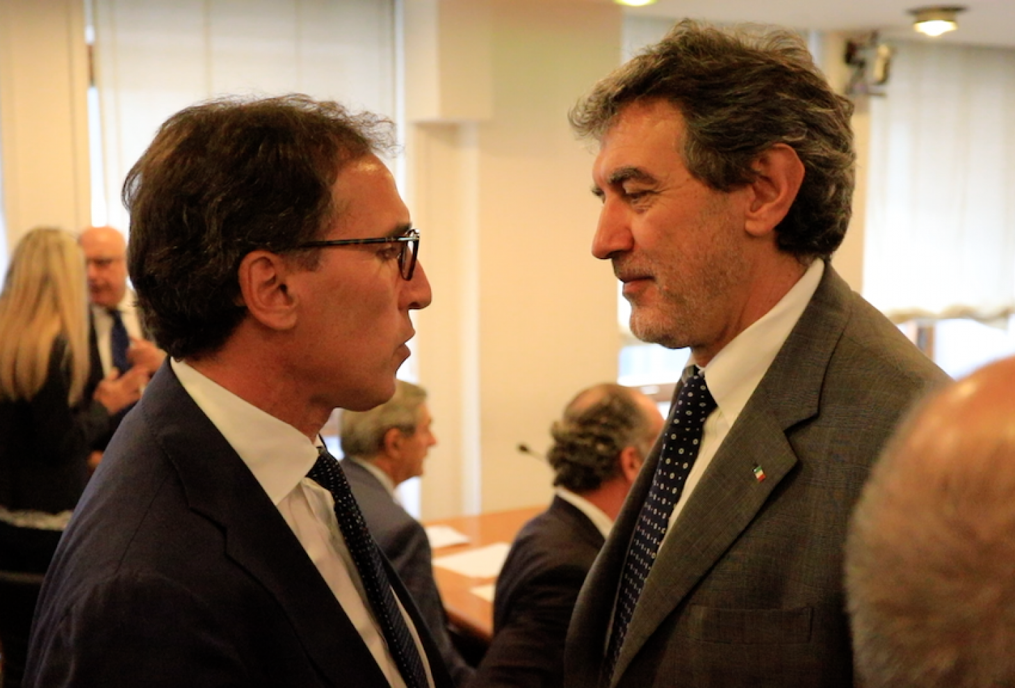 Il ministro Boccia e il presidente Marsilio