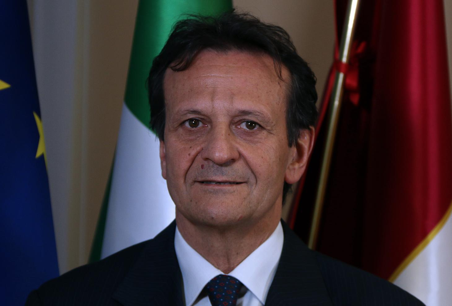 Nella foto il Sottosegretario alla Presidenza, Umberto D'Annuntiis