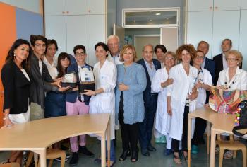 Sanità: i ragazzi dell'Interact donano un respiratore all'oncoematologia pediatrica di Pescara