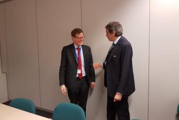 Rete Core: Marsilio incontra a Bruxelles Chantraine (Commissione europea)