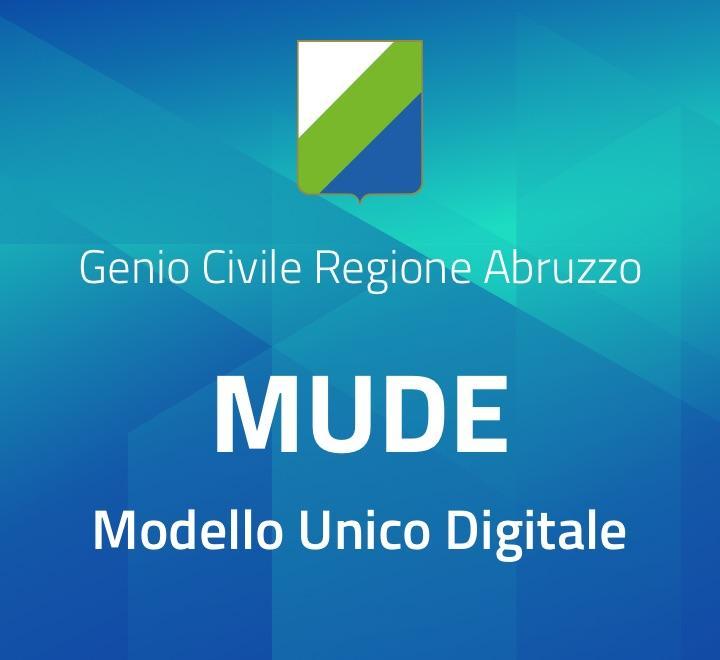 MUDE Modello Unico Digitale - Genio Civile Regione Abruzzo
