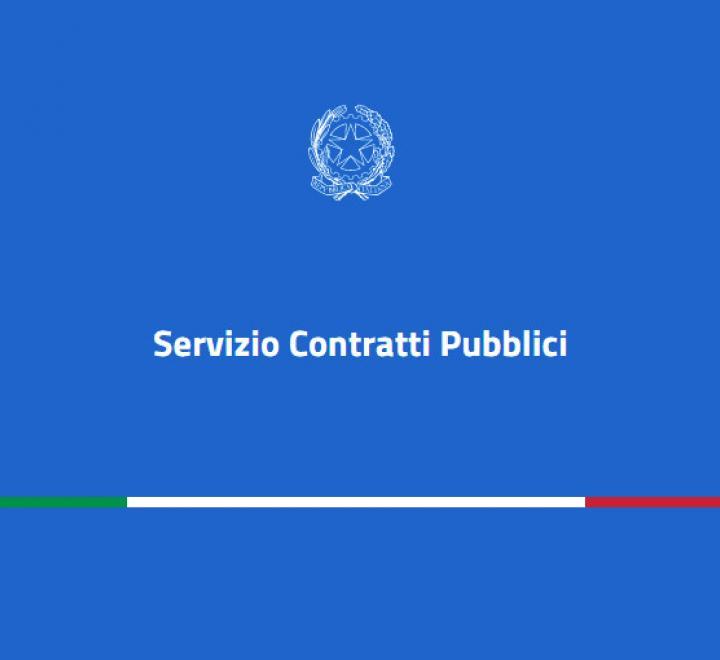 Servizio Contratti Pubblici del Ministero delle Infrastrutture e Trasporti