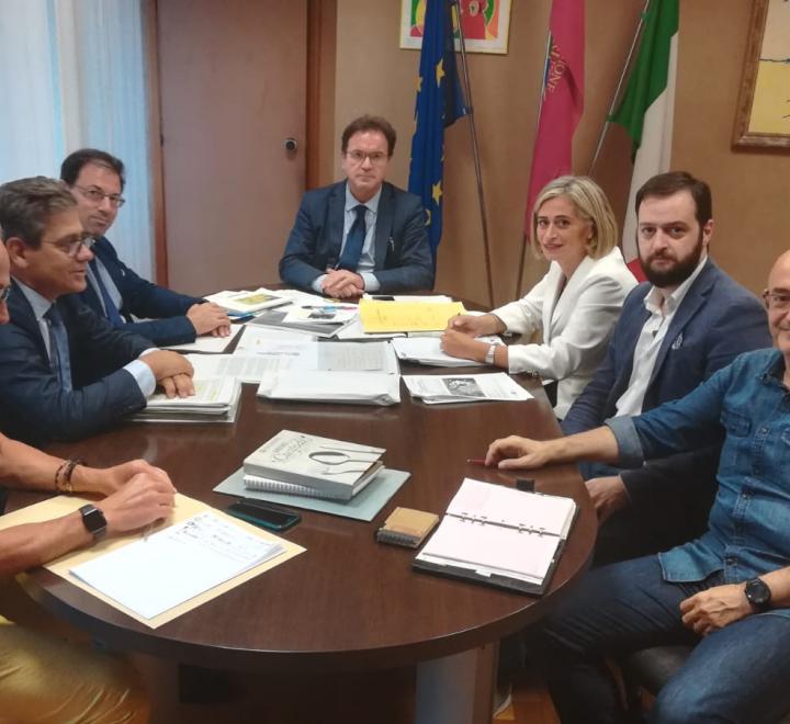 turismo: febbo incontra sindaco di civitella del tronto per progetto di valorizzazione della fortezza