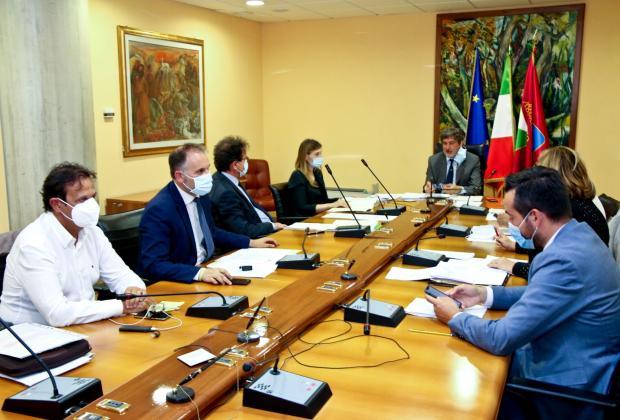 Giunta: Marsilio, i provvedimenti adottati oggi 6 luglio
