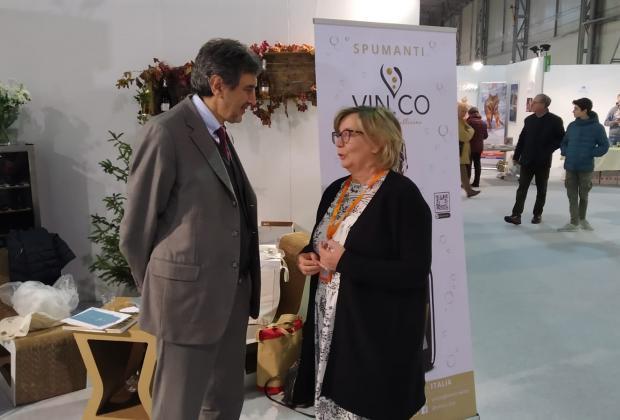 """Agricoltura: Marsilio visita a Lanciano la fiera """"Agroalimenta"""""""