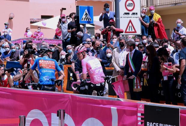 """Giro: Marsilio e Liris, """"Corsa rosa vetrina per nostra regione"""""""