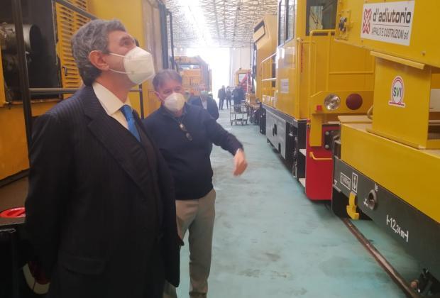Imprese: Marsilio in visita al gruppo industriale della famiglia D'Adiutorio
