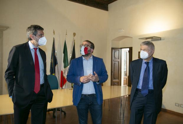 Sisma 2009: Il Presidente Marsilio incontra il nuovo responsabile della Struttura di missione, Carlo Presenti