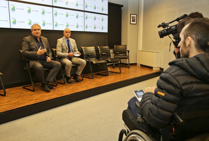 Conferenza stampa di Berardinetti