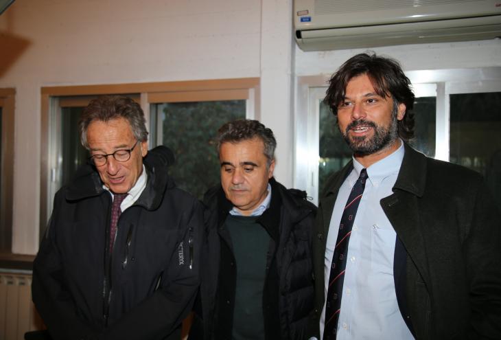Lolli e Pietrucci in visita negli uffici ARTA
