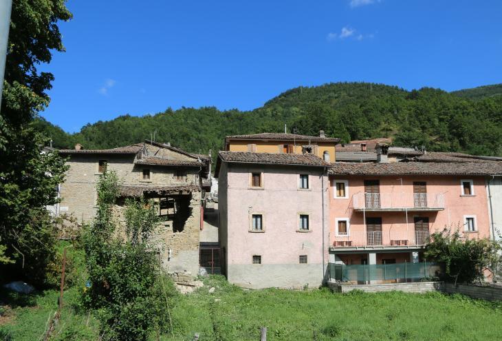 case danneggiate dal terremoto
