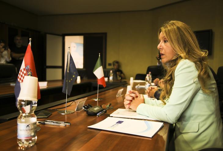 Conf stampa Paola Di Salvatore
