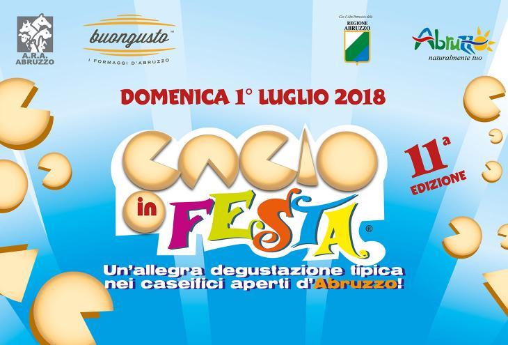 Volantino Cacio in Festa 2018
